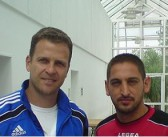 Ali Senergil sprach mit dem DFB-Manager Oliver Bierhoff